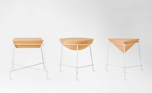 Arthur Leitner's 'Basil' side tables for Petite Friture