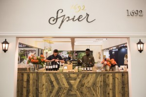 Spier Tasting Counter