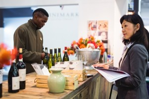 Wine Buyers at Spier Stand